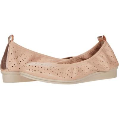 エアロソールズ Aerosoles レディース スリッポン・フラット シューズ・靴 Wooster Light Pink Leather