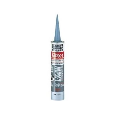 全品P5~10倍 ボンドMPX-1 グレー 333mL(カートリッジ) コニシ 57778-2088