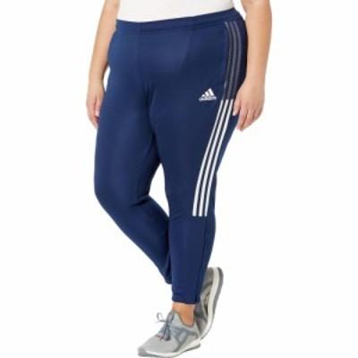 アディダス adidas レディース スウェット・ジャージ 大きいサイズ ボトムス・パンツ Plus Size Tiro Track Pants Team Navy Blue