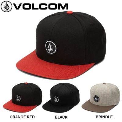 ボルコム VOLCOM QUARTER SNAP BACK HAT  クオーター スナップバック ハット キャップ  帽子  男女兼用 O/S 3カラー【正規品】