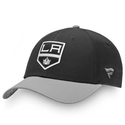 ユニセックス スポーツリーグ ホッケー Los Angeles Kings Fanatics Branded 2019 NHL Draft Flex Hat - Black 帽子