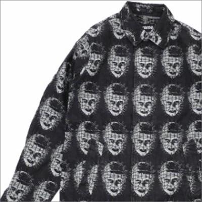 (新品)SUPREME Jacquard Denim Trench Coat (トレンチコート) BLACK 228-000156-131+ 新品 (OUTER)