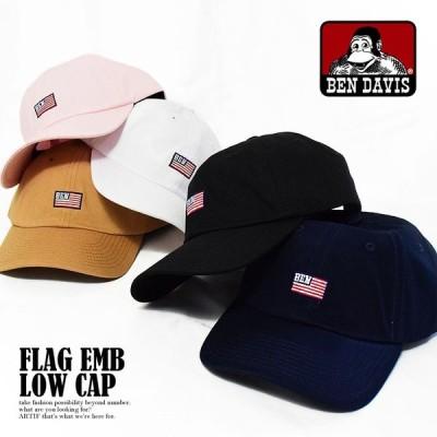ベンデイビス キャップ BEN DAVIS FLAG EMB LOW CAP