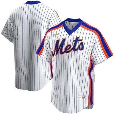 ナイキ メンズ Tシャツ トップス New York Mets Nike Home Cooperstown Collection Team Jersey