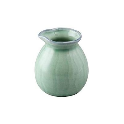三陶 萬古焼 麺の器 そば徳利 2合 (320ml) 青磁 10872
