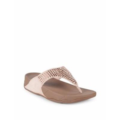 フィットフロップ レディース シューズ サンダル Glitzie Toe Thong Sandals