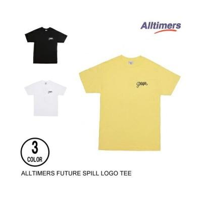 ALLTIMERS オールタイマーズ FUTURE SPILL LOGO BANANA S 半袖Tシャツ