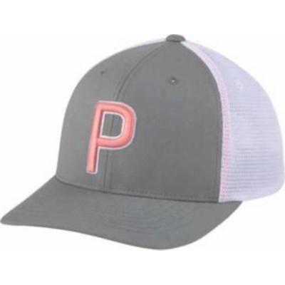 プーマ メンズ 帽子 アクセサリー PUMA Men's Trucker 110 Golf Hat Quiet Shade