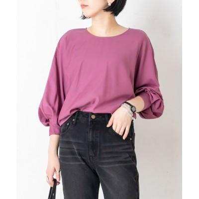 outlet/【CAPRICIEUX LE'MAGE】立体ドルマンブラウス