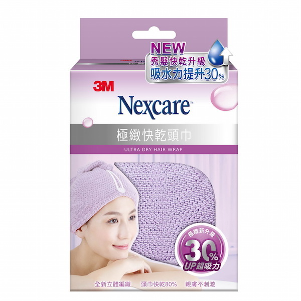 3M 極緻快乾頭巾