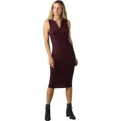 プラーナ ワンピース レディース トップス Foundation Midi Dress - Women's Raisin Heather