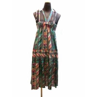 インド製エスニックワンピース2WAY切り替えエスニック衣料