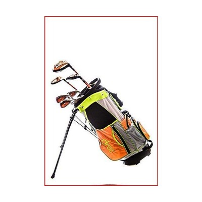 Droc - Noa Series Right Hand 7 Pieces Golf Clubs Set and Golf Bag Age 6-10 Right Handed【並行輸入品】