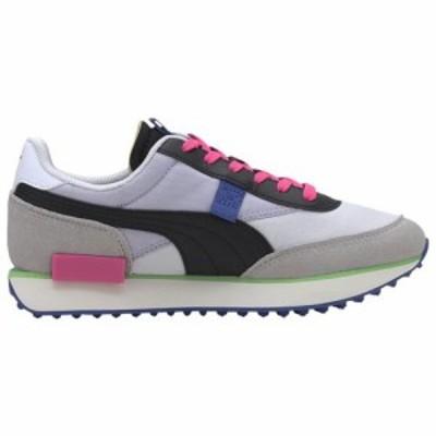 (取寄)プーマ レディース シューズ プーマ フューチャー ライダー  Women's Shoes PUMA Future Rider  White Gray Violet Black