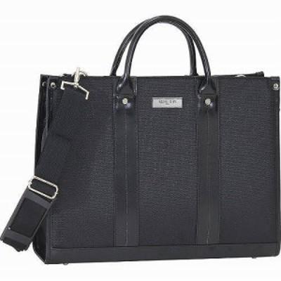 ミッシェル クラン ビジネスバッグ ブラック 23-5554 【送料無料】(メンズバッグ