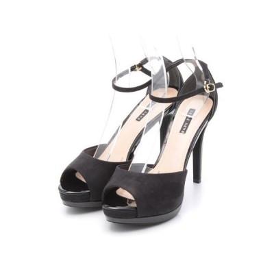 サンダル BABY PURE ベビィピュア EVOL イーボル (be23726) エナメルコンビアンクルストラップサンダル シューズ 靴 お取り寄せ商品