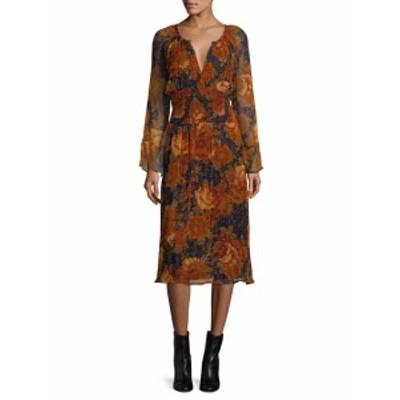 アンティクバティック レディース ワンピース Mony Floral Blouson Dress