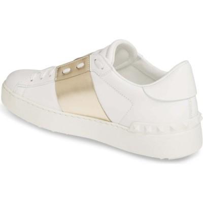 ヴァレンティノ VALENTINO GARAVANI レディース スニーカー シューズ・靴 Metallic Band Sneaker White