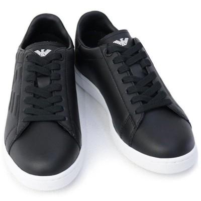 エンポリオアルマーニ イーエーセブン EMPORIO ARMANI EA7 靴 メンズ スニーカー ブラック (X8X001 XCC51 00002 BLACK) 2021SS 新作