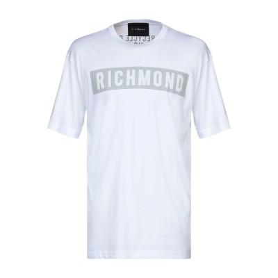 ジョン リッチモンド JOHN RICHMOND T シャツ ホワイト S コットン 100% T シャツ