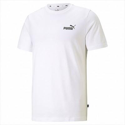[PUMA]プーマ ESS スモールロゴ Tシャツ (589041)(02) プーマ ホワイト[取寄商品]