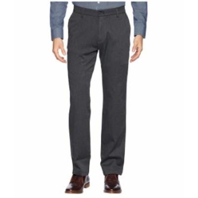 ドッカーズ メンズ カジュアルパンツ ボトムス Straight Fit Signature Khaki Lux Cotton Stretch Pants D2 - Creaseless Charcoal Heath