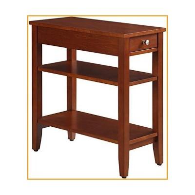 [新品]American Heritage Three Tier End Table with Drawer[並行輸入品]