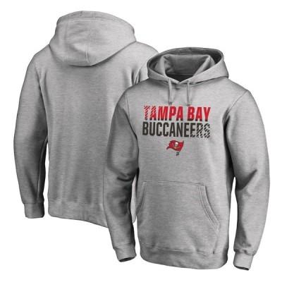 """メンズ フーディ """"Tampa Bay Buccaneers"""" NFL Pro Line by Fanatics Branded Iconic Collection Fade Out Pullover Hoodie - Ash"""