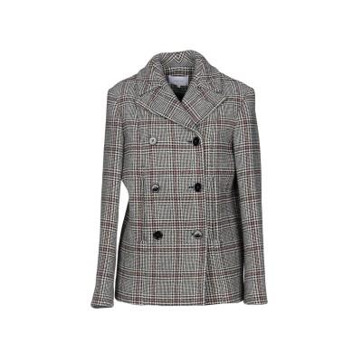 カルヴェン CARVEN コート ブラック 40 ウール 65% / ナイロン 30% / 指定外繊維 5% コート