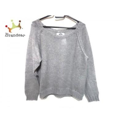 リランドチュール Rirandture 長袖セーター サイズ2 M レディース 美品 グレー   スペシャル特価 20200628