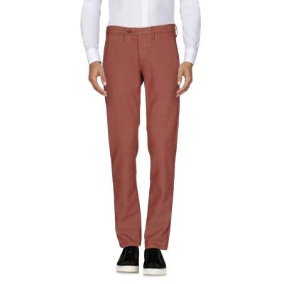 オークス OAKS パンツ 赤茶色 36 コットン 62% / ポリエステル 37% / ポリウレタン 1% パンツ