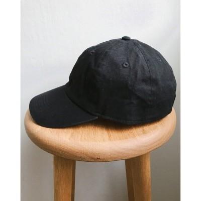 帽子 キャップ newhattan(ニューハッタン) / STONE WASHED TWILL CAP ウォッシュドツイルローキャップ/無地/ワンポイ