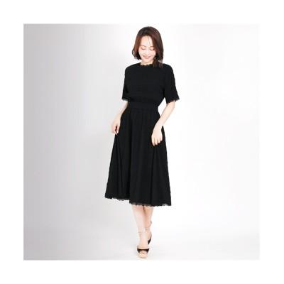 MARTHA(マーサ) レーストリミングワンピース (ワンピース)Dress