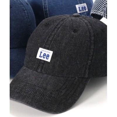 帽子屋ONSPOTZ / リー キャップ DENIM ウォッシュ加工 Lee MEN 帽子 > キャップ