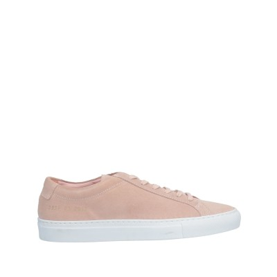 WOMAN by COMMON PROJECTS スニーカー&テニスシューズ(ローカット) パステルピンク 38 革 スニーカー&テニスシューズ(ロ
