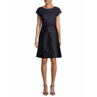 ラファイエット148ニューヨーク レディース ワンピース Hillany Mixed Media A-Line Dress