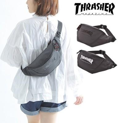 スラッシャー THRASHER ウエストバッグ ボディバッグ レディース メンズ 斜めがけバッグ 斜め掛け ブランド おしゃれ 大容量