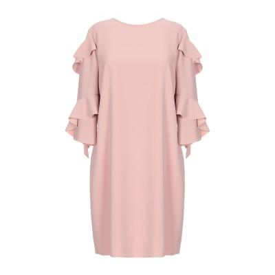 ピンコ PINKO ミニワンピース&ドレス ベージュ 44 ポリエステル 100% ミニワンピース&ドレス