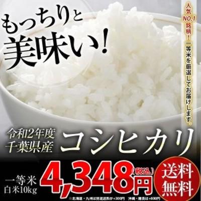 米 お米 送料無料 新米 令和2年 千葉県産 コシヒカリ 白米 10kg ※一部地域へのお届けは別途送料が発生