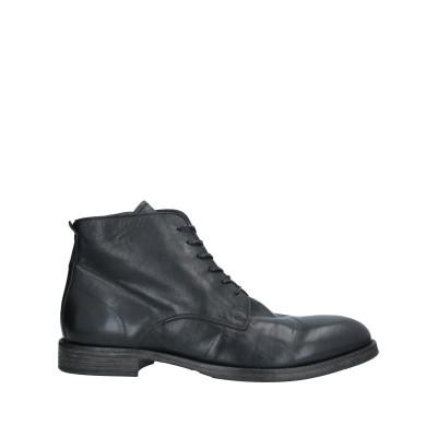 モマ MOMA ショートブーツ ブラック 42 牛革(カーフ) ショートブーツ
