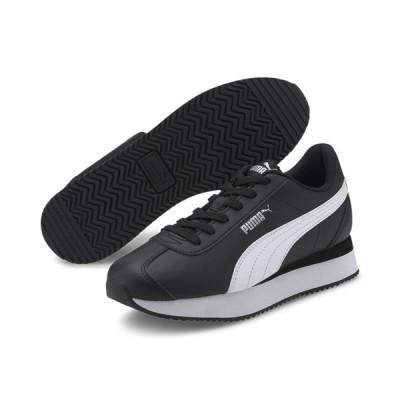 在庫一掃セール プーマ Puma Turino Stacked 371115-09 レディースシューズ スニーカー 黒靴 黒スニーカー ブラック