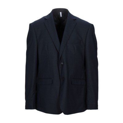 DOMENICO TAGLIENTE テーラードジャケット ブラック 50 ポリエステル 65% / レーヨン 35% テーラードジャケット