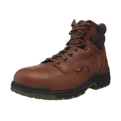 "Timberland Pro Men's Titan 6"" Safety Toe Boot - 10.5 D - Coffee【並行輸入品】"