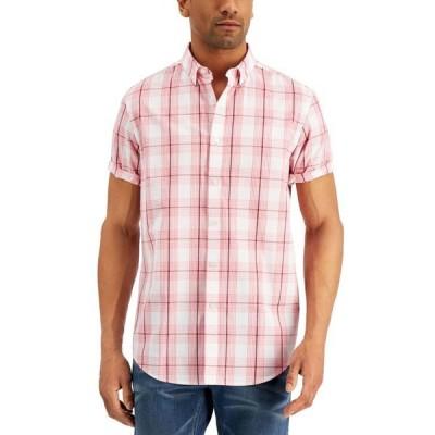 クラブルーム メンズ シャツ トップス Men's Short Sleeve Printed Shirt