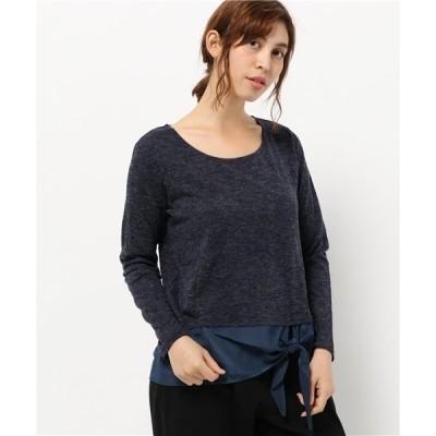 tシャツ Tシャツ 裾リボンプルオーバー