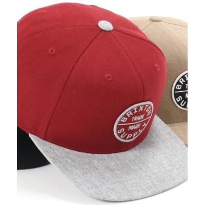 帽子屋ONSPOTZ / ブリクストン キャップ スナップバック OATH III BRIXTON MEN 帽子 > キャップ