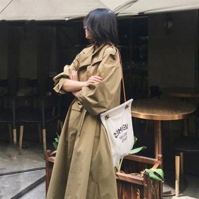 トレンチコート レディース スプリングコート 定番 春コート ロングコート きれいめ おしゃれ アウター ベスト 春物 春服 大きいサイズ 30代