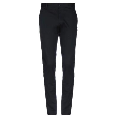 VERSACE パンツ ブラック 48 コットン 98% / ポリウレタン 2% パンツ