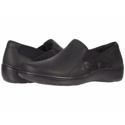 クラークス スニーカー シューズ レディース Cora Lilac Black Leather/Textile Combination