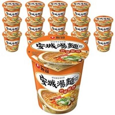 [韓国ラーメン] 農心安城湯麺ソコプ66g、15個